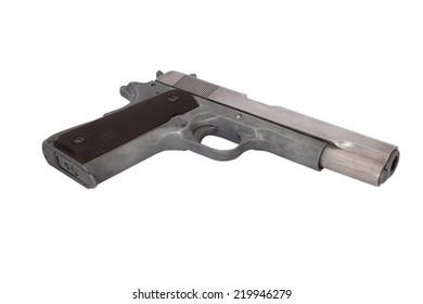 BB Gun Isolate on white background