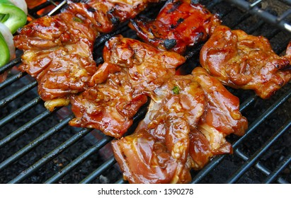 BBQ of meat
