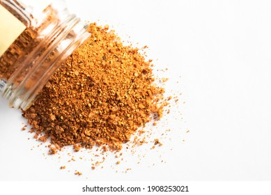 BBQ Rub  Spilled from a Spice Jar