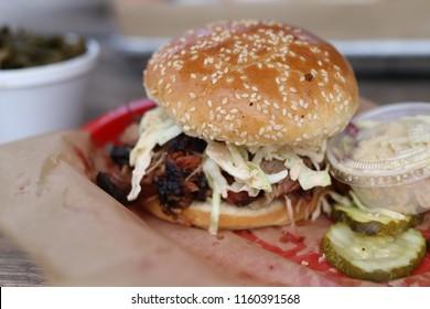 BBQ Sandwich on bun
