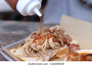 BBQ Sauce on pulled pork
