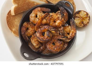 BBQ Shrimp, Overhead
