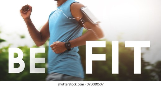 Be Fit Healthy Physical Workout Training Activity Concept