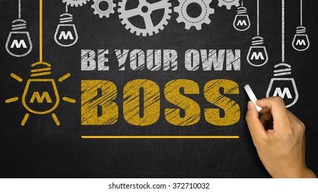 Be Your Own Boss on blackboard