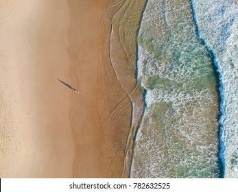 Beach from above.