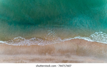beach from above by Drone photography