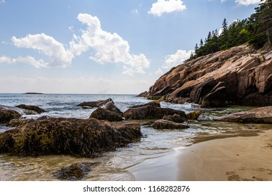 Beach Acadia National Park Maine