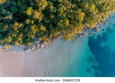 Beach Aerial Sunrise