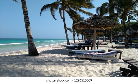 Beach in Africa, Kenya, Diani Beach