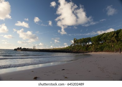 Beach in the afternoon, Eastern Island