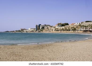 Beach of Aguadulce