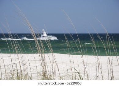 The beach at the Alabama Gulf Coast.