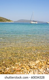 beach of alonissos, sporades, greece