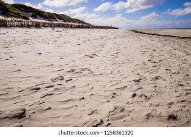 Beach of Amrum in Germany.