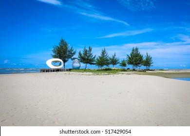 The Beach area in Bangladesh coastal region Cox's Bazar