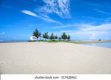 The Beach area in Cox's Bazar in Bangladesh