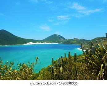 Beach of Arraial do Cabo, in Rio de Janeiro, Brazil.