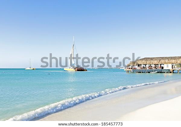 Beach at Aruba