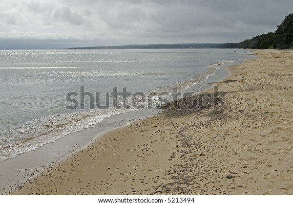 Beach at the baltic, Sweden