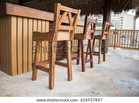 beach bar chairs