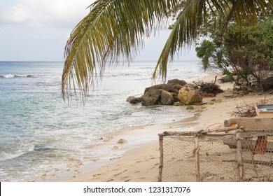 Beach in Barbados an island country in the Lesser Antilles, in the Caribbean region of North America