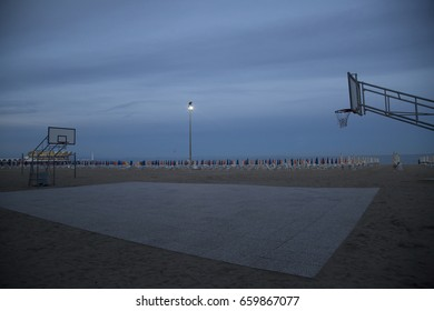 Beach basketball