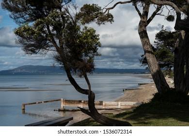 Beach Bay Blairgowrie Victoria Australia scenic calm water Port Phillip Bay