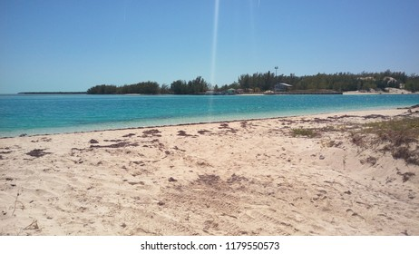 A beach in Bimini, The Bahamas