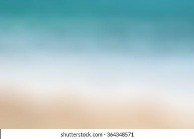 Beach blur background