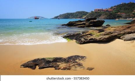 Beach in Brazil - Joao Fernando beach in Buzios (state of Rio de Janeiro).