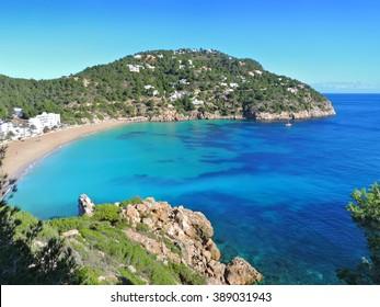 Beach Cala San Vicente, Ibiza