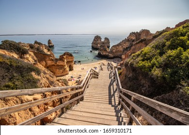 Beach of Camilo algarve portugal