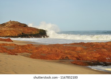 Beach in Cape Coast, Ghana