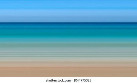 Beach Caribbean color background