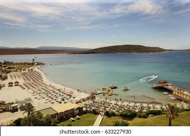 A Beach in Cesme,Alacati, Izmir, Turkey