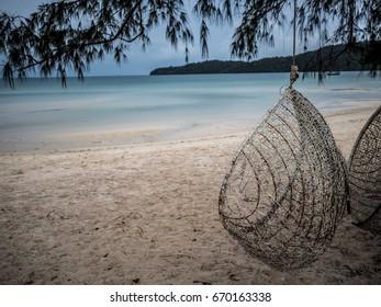 Beach Chair in Cambodia.