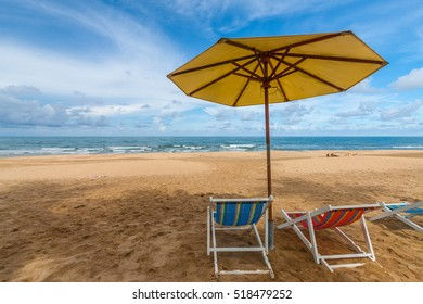 Beach Chair for relax in the vacation