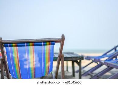 beach chair summer Thailand