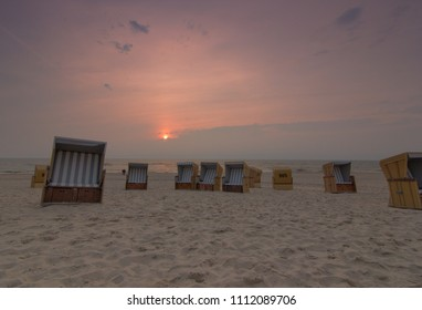 Beach chairs in Westerland, Sylt