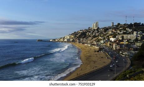 reñaca beach, Chile