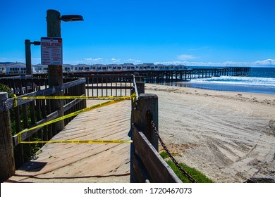 beach closed during coronavirus quarantine