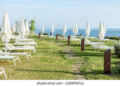 beach club over the sea