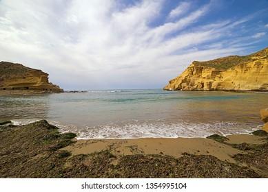 Beach of cocederos, Almería province