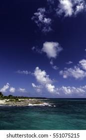 The beach of Costa Maya