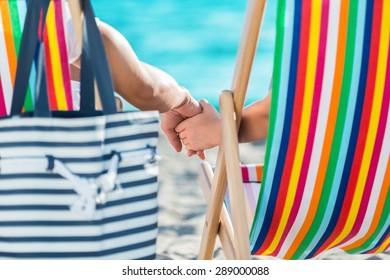 Beach, Couple, Honeymoon.