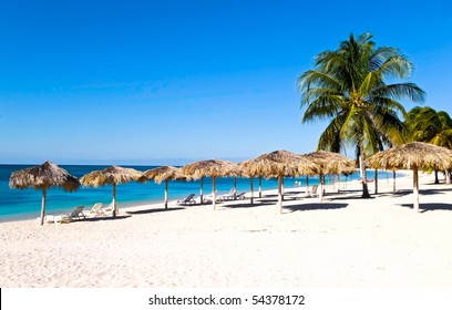 the beach of Cuba