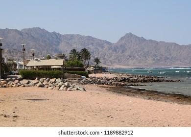 Beach in Dahab, Egypt