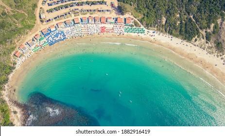 Beach das Conchas - Praia das Conchas - Pero - Cabo Frio - Brazil  - Shutterstock ID 1882916419