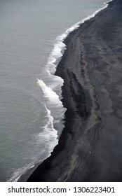 Beach at Dyrholay, Iceland