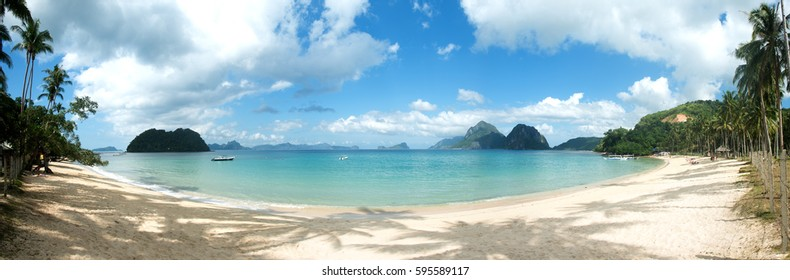 Beach in El Nido, Palawan, Philippines.